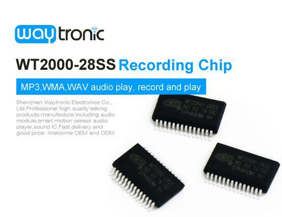 Single chip mp3 player